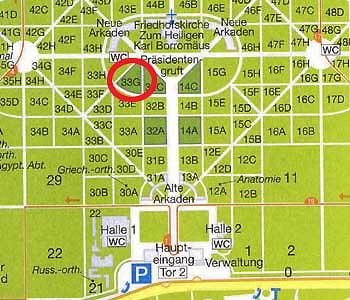 33 G Ehrengräber Zentralfriedhof