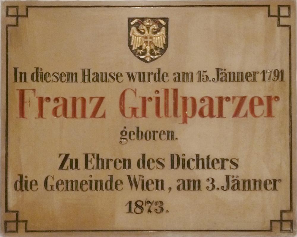 Franz Grillparzer geburtshaus