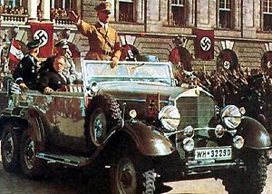 Hitler steigt im imperial ab